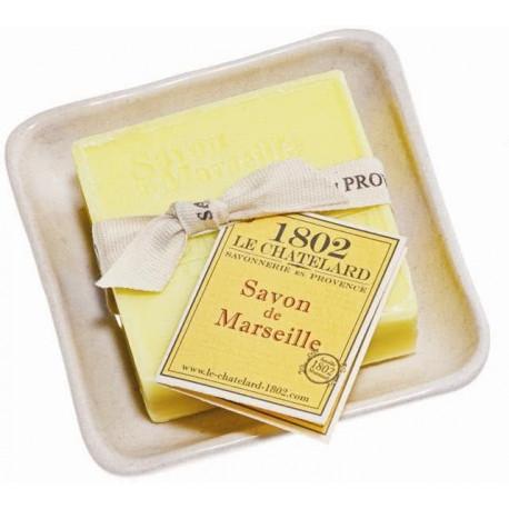 Set cadou savoniera sapun de Marsilia VERBINA-LAMAIE