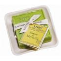 Set Cadou Savoniera Sapun Natural Marsilia Patrat 100g Exfoliant Masline Olives Le Chatelard 1802