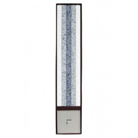 Set Cadou Lumanari Decorative cu Suport Otel Inox Amabiente 14101 Classic Weiss Silber Stein
