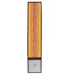 Set Cadou Lumanari Decorative cu Suport Otel Inox Amabiente Classic 14103 Mango Honig Terrakota