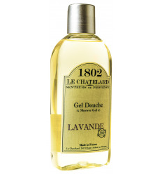 Gel de Dus Natural 200ml Lavanda de Provence  Le Chatelard 1802