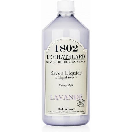 Rezerva Sapun Lichid Natural 1000ml Lavanda de Provence Le Chatelard 1802