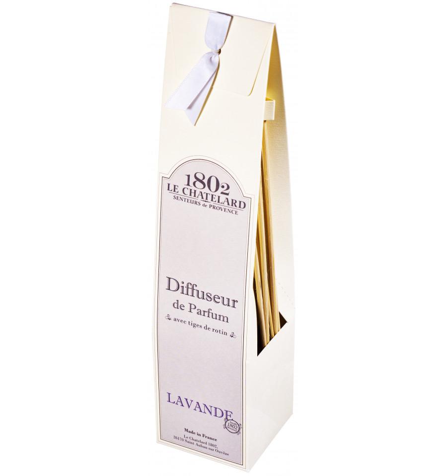 Difuzor Parfum Cu Bete Ratan 100ml Lavanda De Provence Le Chatelard 1802 Natural Camera