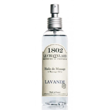 Ulei de Masaj Natural 125ml Lavanda de Provence  Le Chatelard 1802