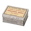 Sapun Natural de Marsilia 100g Migdale Miere Cutie Galva Le Chatelard 1802