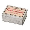 Sapun Natural de Marsilia 100g Rose Pivoine Trandafir Bujor Cutie Galva Le Chatelard 1802