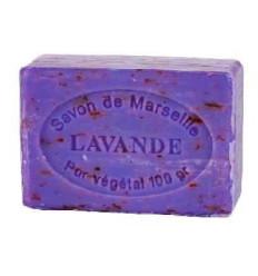 Sapun Natural de Marsilia 100g Exfoliant Lavanda de Provence Le Chatelard 1802