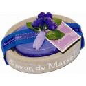 Set savoniera sapun VIOLETE-MURE