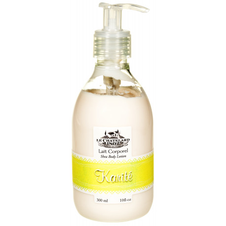 Lapte de Corp Natural 300ml Karite Shea Butter Le Chatelard 1802