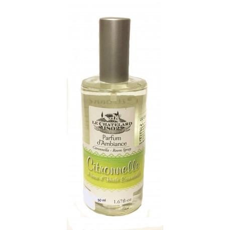 Parfum Camera Ambiental Vaporizator Natural 50ml Citronelle Le Chatelard 1802