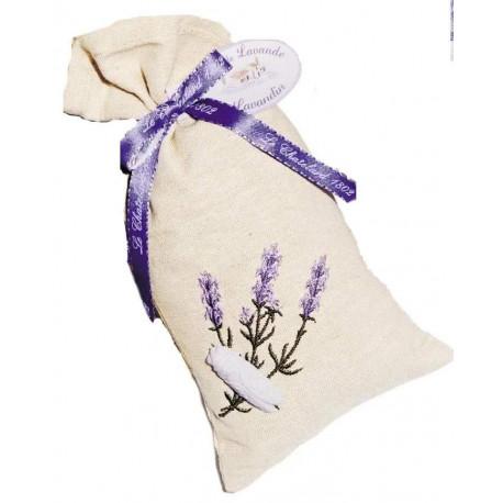 Saculet Flori Lavanda Naturala de Provence 18g Le Chatelard 1802