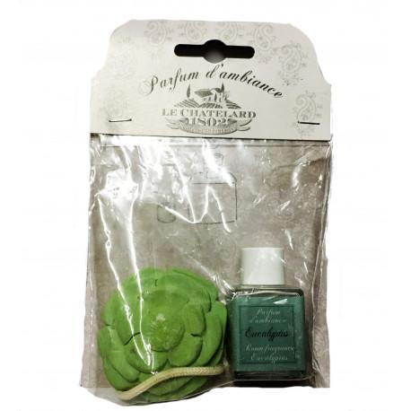 Difuzor Parfum Camera Ceramic 12ml Natural Eucalipt Le Chatelard 1802
