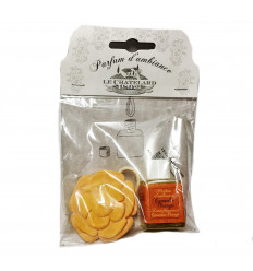 Difuzor Parfum Camera Ceramic 12ml Natural Scortisoara-Portocala Cannelle-Orange