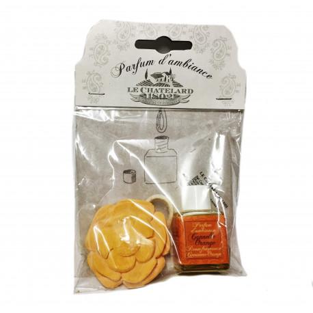 Parfum Vaporizator Natural 50ml Scortisoara-Portocala Cannelle-Orange Le Chatelard 1802