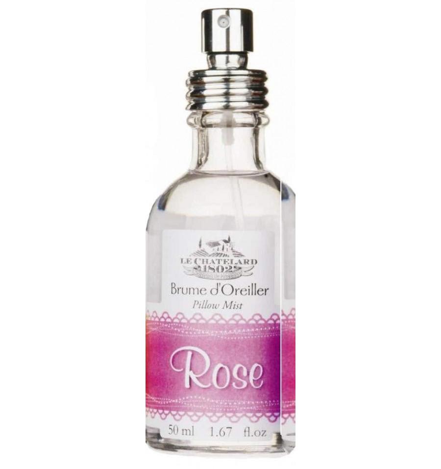 Parfum Perna Asternut Vaporizator Natural 50ml Rose Trandafir Le Chatelard 1802