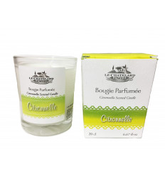 Lumanare parfumata LAMAITA/CITRONNELLE, naturala