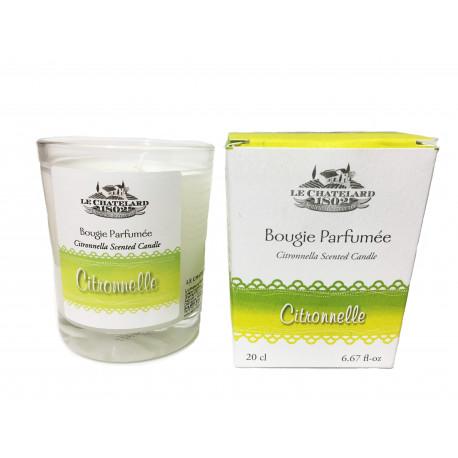 Difuzor Parfum Cu Bete Ratan 100ml Citronelle Le Chatelard 1802