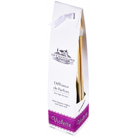 Difuzor Parfum Cu Bete Ratan 100ml Violete Le Chatelard 1802 Natural Camera