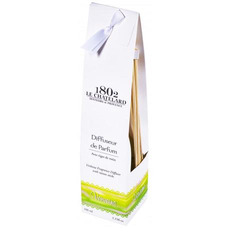 Difuzor Parfum Cu Bete Ratan 100ml Verbina Verveine Le Chatelard 1802 Natural Camera