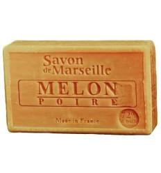 Sapun Natural de Marsilia 100g Pepene Galben-Pere Melon-Poire Le Chatelard 1802