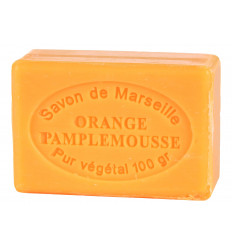 Sapun Natural de Marsilia 100g Portocala Grapefruit Orange Pamplemousse Le Chatelard 1802