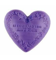 Sapun Natural de Marsilia Inima 100g Lavanda de Provence Lavande Le Chatelard 1802