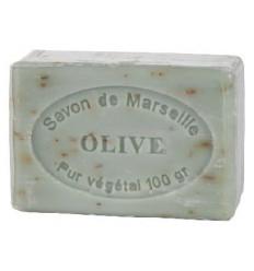 Sapun Natural de Marsilia 100g Exfoliant Masline Ulei d'Olive Le Chatelard 1802
