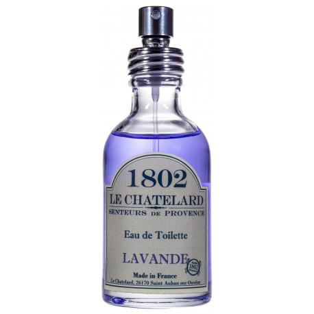 Apa de Toaleta Naturala 50ml Lavanda de Provence Le Chatelard 1802