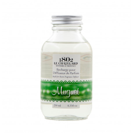 Rezerva Parfum Natural 250ml Lacramioare Muguet Lilly of the Valley Le Chatelard 1802