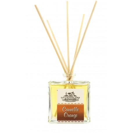 Difuzor de parfum cu betisoare SCORTISOARA si PORTOCALE