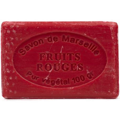 Sapun Natural de Marsilia 100g Fructe Rosii de Padure Fruits Rouges Le Chatelard 1802