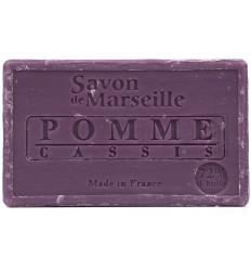 Sapun Natural de Marsilia 100g  Mar Coacaze Pomme Cassis Le Chatelard 1802