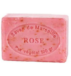 Sapun exfoliant cu trandafir 100g natural