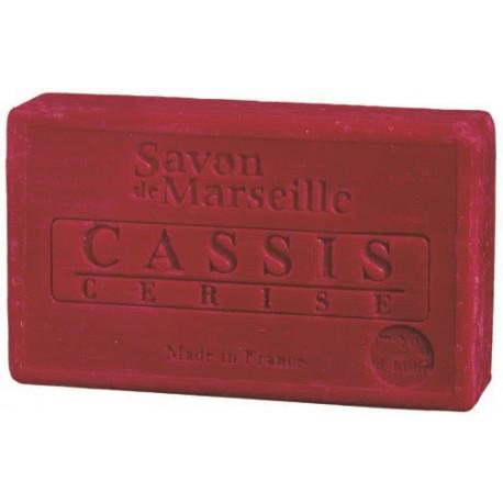 Sapun Natural de Marsilia 100g Cirese-Coacaze Cerise-Cassis Le Chatelard 1802