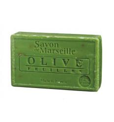 Sapun Natural de Marsilia 100g Exfoliant Masline Olive Feuilles Le Chatelard 1802