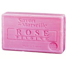 Sapun Natural de Marsilia 100g Trandafir-Bujor Rose-Pivoine Le Chatelard 1802