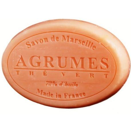 Sapun Natural de Marsilia 100g Citrice-Ceai Verde Agrumes-The Vert Le Chatelard 1802