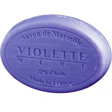 Sapun Natural de Marsilia 100g Violete-Mure Le Chatelard 1802 Oval