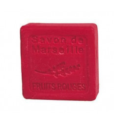 Sapun Natural de Marsilia 30g Fructe Rosii de Padure Fruits Rouges Le Chatelard 1802 Hotelier HoReCa Marturii Nunta Botez