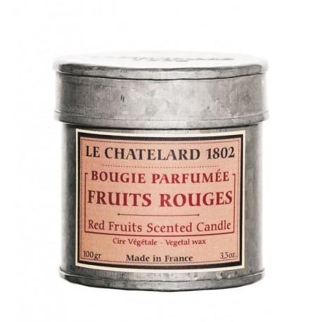 Lumanare Parfumata 100g Fructe Rosii Le Chatelard 1802 Cutie Galva