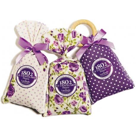 Seturi cadou cu saculeti de flori de lavanda de Provence