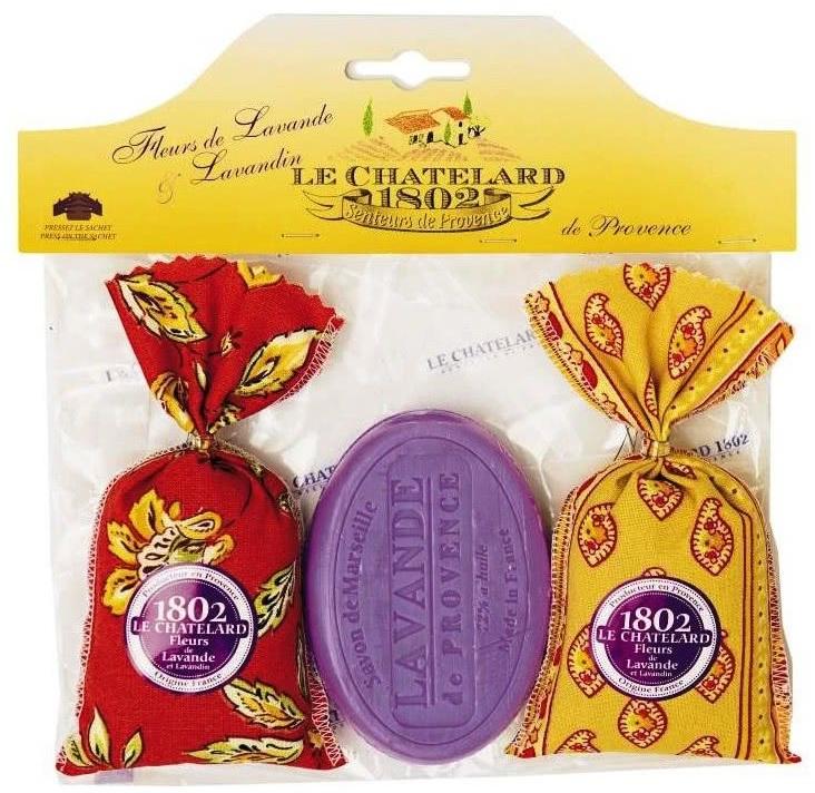 Cadouri simbolice - sapunuri cu lavanda si diverse accesorii